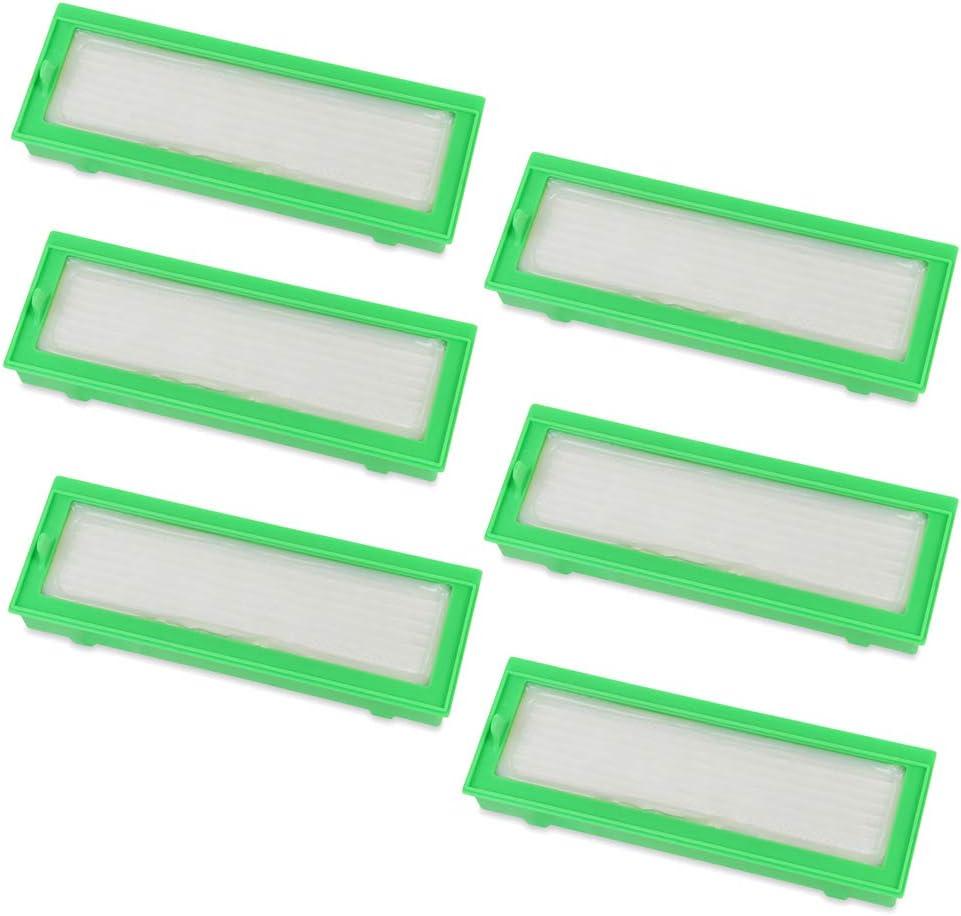 6 pieza filtro HEPA Allergie Filtros de repuesto para aspiradoras ...