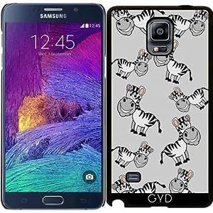 Funda para Samsung Galaxy Note 4 (N910) - Una Cebra Sonriente by zorg