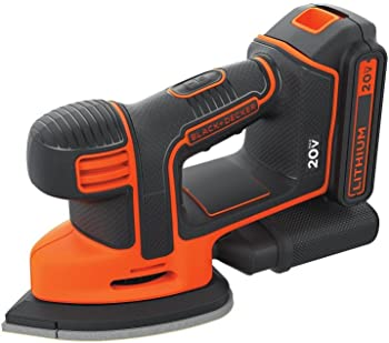 Black & Decker BDCMS20C 20V MAX Lithium Ion MOUSE Sander