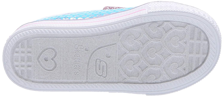 Skechers Kids Shuffle Lite-Mini Mermaid Sneaker 20063N