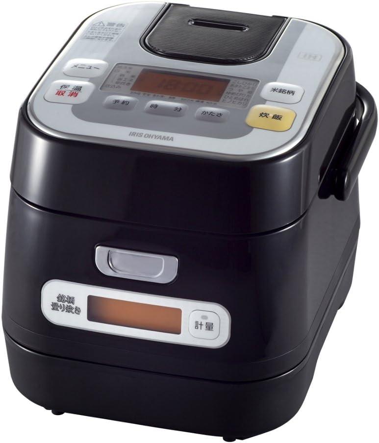 IRIS OHYAMA rice cooker IH 3 Go (450g) Brand Weighed cooked (MeigaraHakaridaki) RC-IA30-B