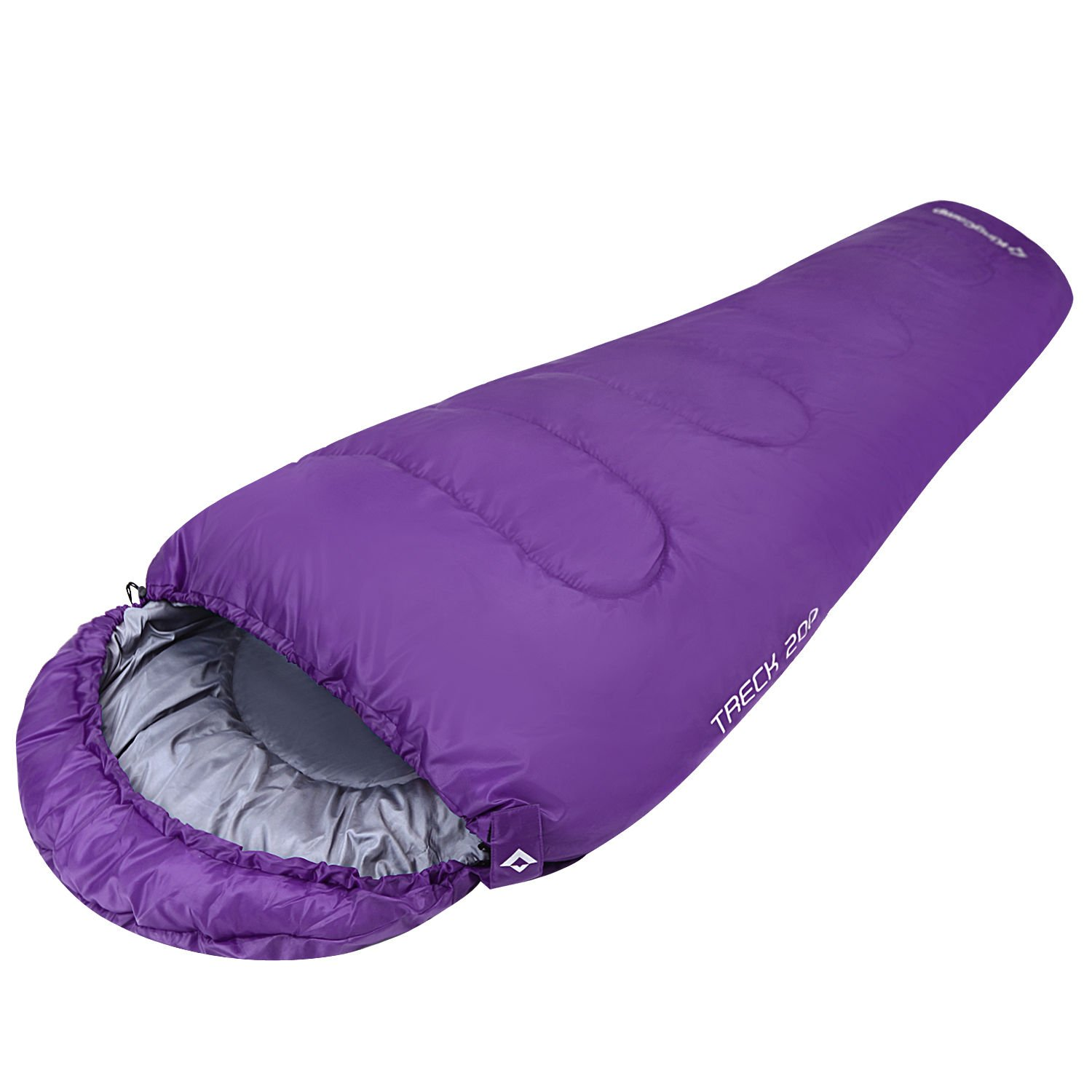 Treck Mummy Sleeping Bag Camping Backpacking Water Repellent Variation