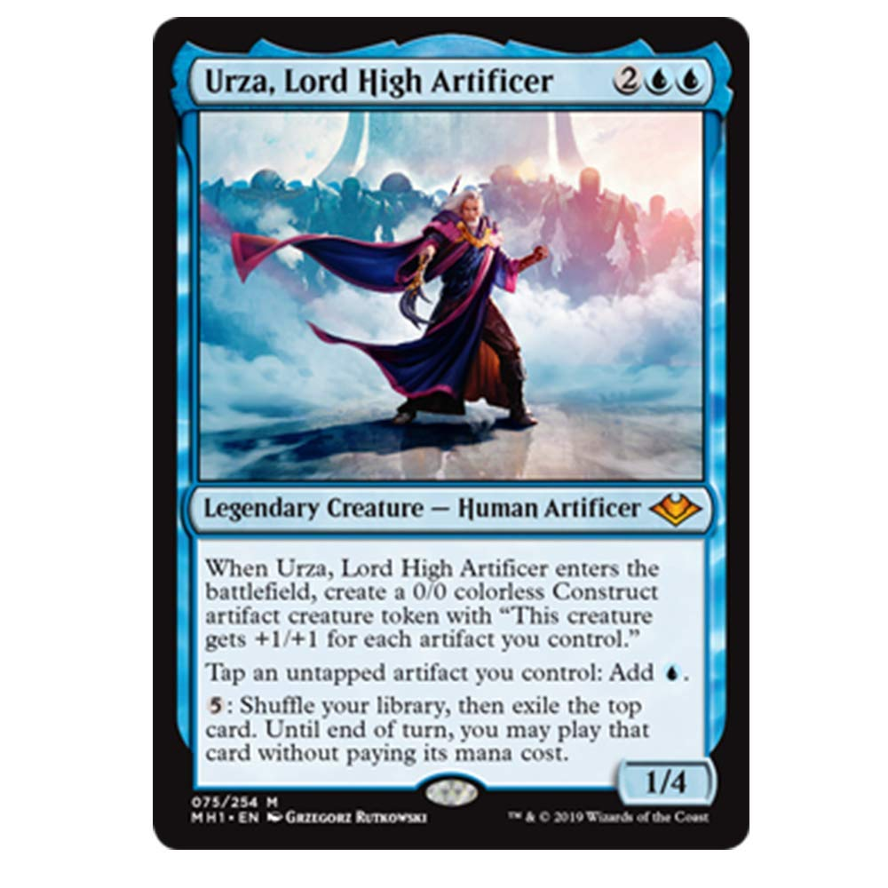 Mint urza, Lord high Artificer 075/254 Mythic foil