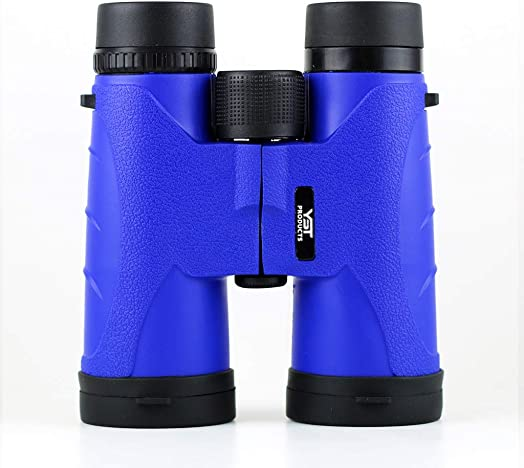 Binoculars 10x42 Blue YST PRODUCTS - Fully Multi-Coated Optics - Bright and Clear Visibility - Best Birding Experience - Compact Lightweight Binoculars for Adults Kids - Great for Traveling Hunting