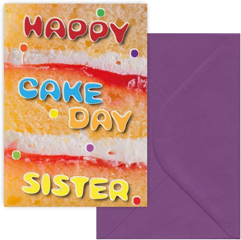 Tremendous Happy Cake Day Sister Greeting Card Happy Birthday Sister Funny Birthday Cards Online Ioscodamsfinfo