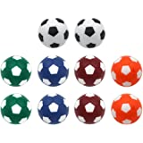 Sunfung Table Soccer Foosballs Replacement Balls Mini Multicolor 36mm Official Foosball