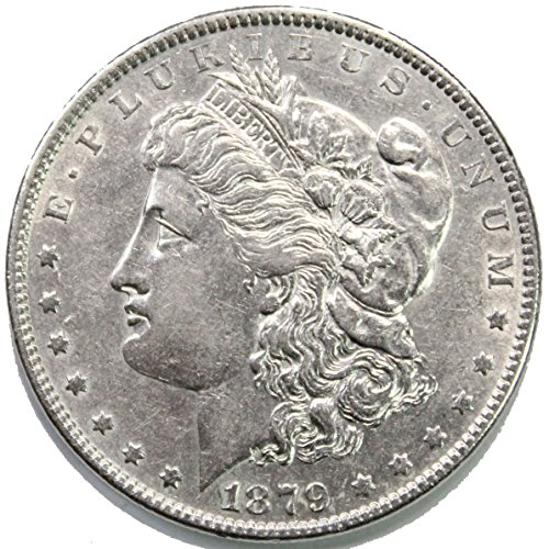 1879 P Morgan Silver Dollar $1 AU