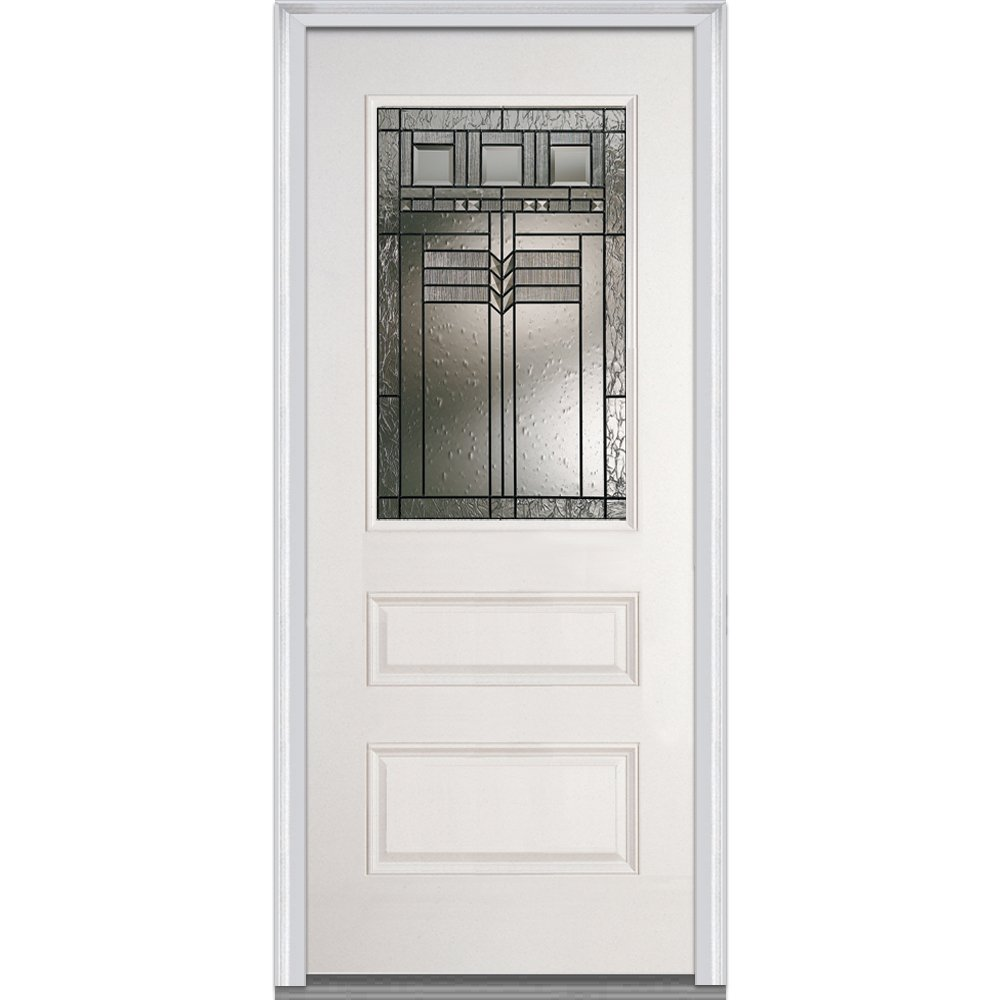 Amazon National Door Company Z021938l Fiberglass Prehung Left