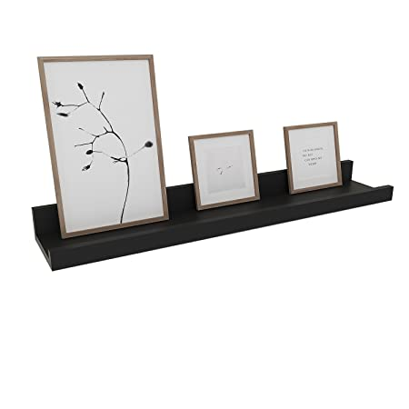 Egotrade Contemporary Wall Mounted Shelf 60CM Long Floating Shelf ...
