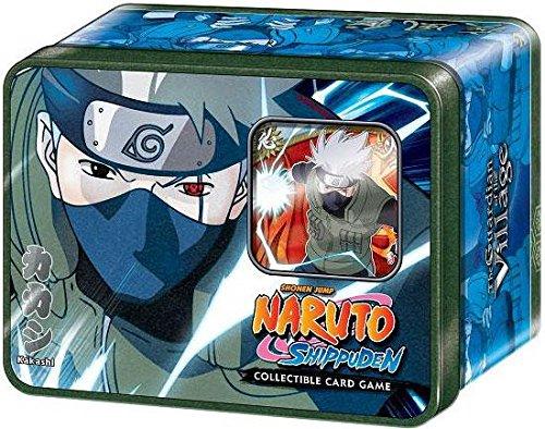2009 Naruto CCG: Guardian of the Village Tin Collector Tin Set: Kakashi Hatake - Great Gift! from Naruto