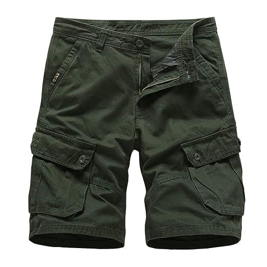 Lefuku Pantalones De CháNdal De Los Hombres, Pantalones Cortos De ...