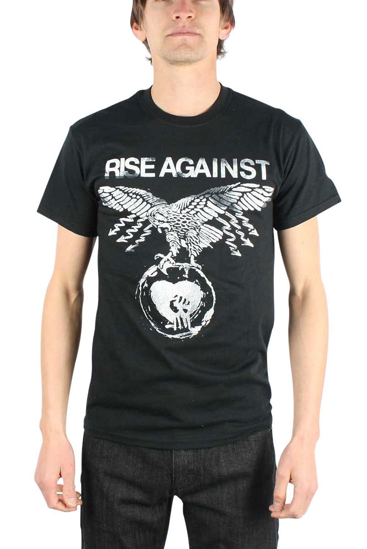 Rise Against - Patriot Mens T-Shirt in Black