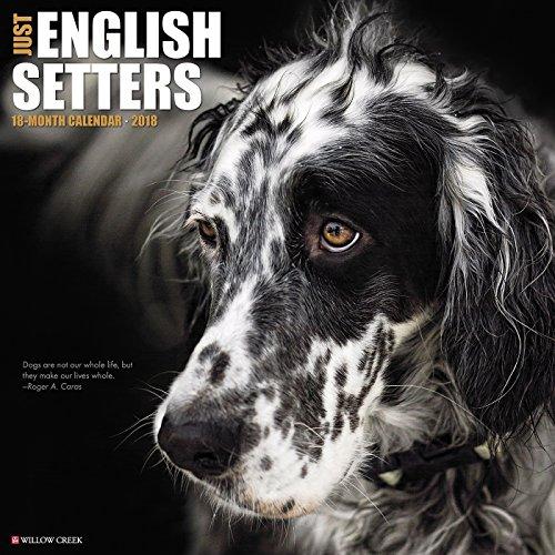 Just English Setters 2018 Calendar