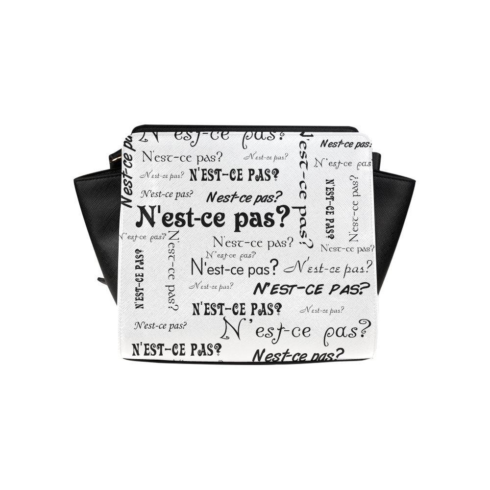 Custom N'Est-Ce Pas High-grade PU leather Woman Top Zip Satchel Handbag/Shoulder Bag/Tote Bag For Women Girls SP-250