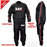 Heavy Duty RAD Sweat Suit Sauna Exercise Gym Suit Fitness Weight Loss Anti-Rip Red
