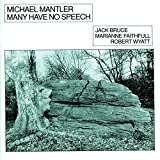 Mantler, Michael Many Have No Speech Avantgarde/Free