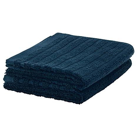 IKEA ASIA Toalla para Invitados Vagsjon, Color Azul Oscuro