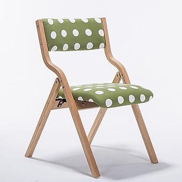 silla plegable Sillas de madera plegables Sillas de comedor ...