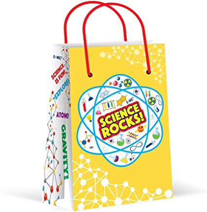 Amazon.com: Bolsas de fiesta de ciencia, bolsas de regalo ...