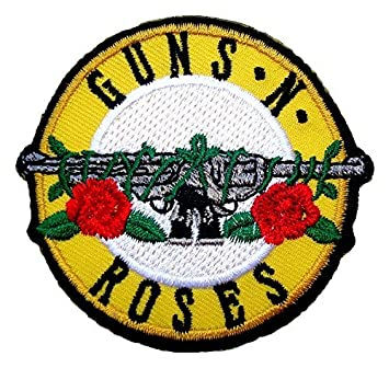 Amazon guns n roses rock band logo t shirts mg17 embroidered guns n roses rock band logo t shirts mg17 embroidered iron on patches altavistaventures Gallery