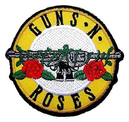 Amazon guns n roses rock band logo t shirts mg17 embroidered guns n roses rock band logo t shirts mg17 embroidered iron on patches thecheapjerseys Choice Image