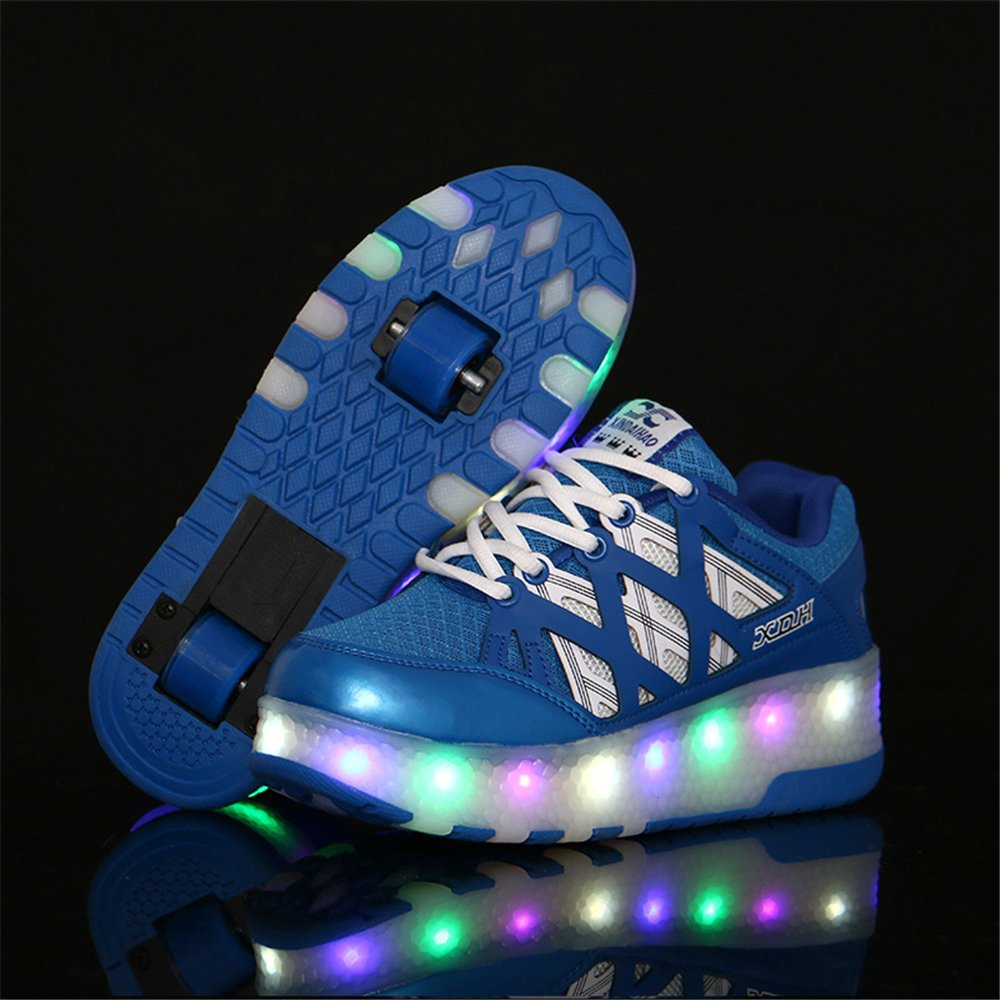Kids/&Adult LED Light up Shoes High Top Flashing Sneakers for Gift