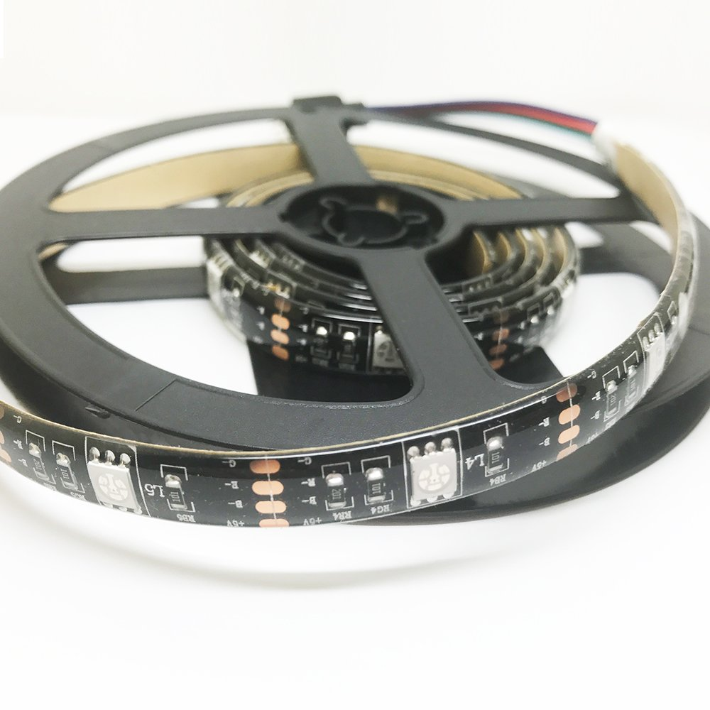 39inches//1m RGB 5050 LED Light Strip Flexible Waterproof with 17 Keys RF Remote Control USB LED TV Backlight Kit TACLKA