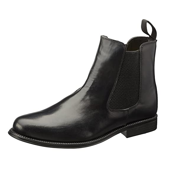 01645a1bfee Chelsea Boots Men's Real Leather Boots with Leather Soles. In Black and  Brown