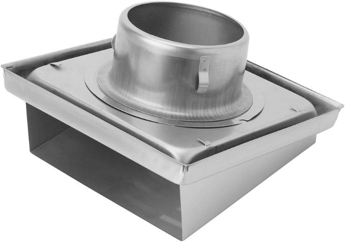 Yuhong-Vents Aire de la Pared de la Rejilla, difusor conductos de ventilación de la Cubierta, Extractor de Salida lumbreras Pared Lateral y Techo (Color : 1.25)