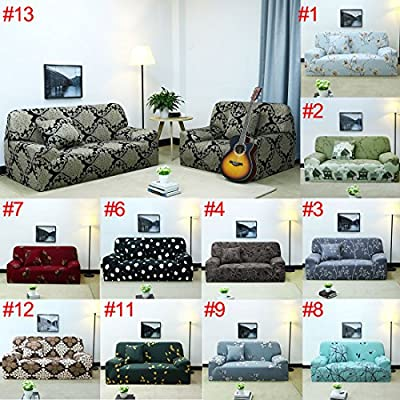 uxcell 1 2 3 4 Seater Sofa Covers Sofa Slipcovers Protector Elastic Polyester Spandex Fabric Featuring Soft Form Fit Couch Covers