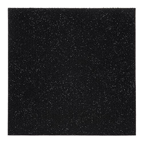 Achim Home Furnishings NXCRPTJT12 Nexus Jet 12 inch x 12 inch Self Adhesive Carpet Floor Tile, 12 Tiles/12 Sq