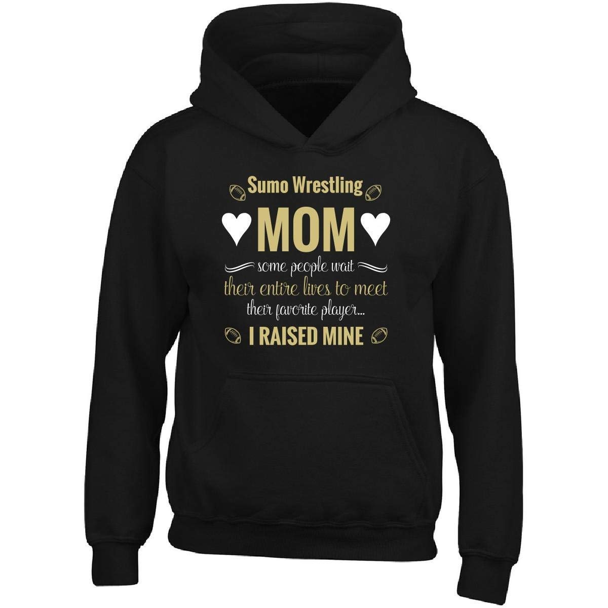 Mother's Day Awesome Gift for Sumo Wrestling Mom Cool - Men Hoodie by Bvtemp
