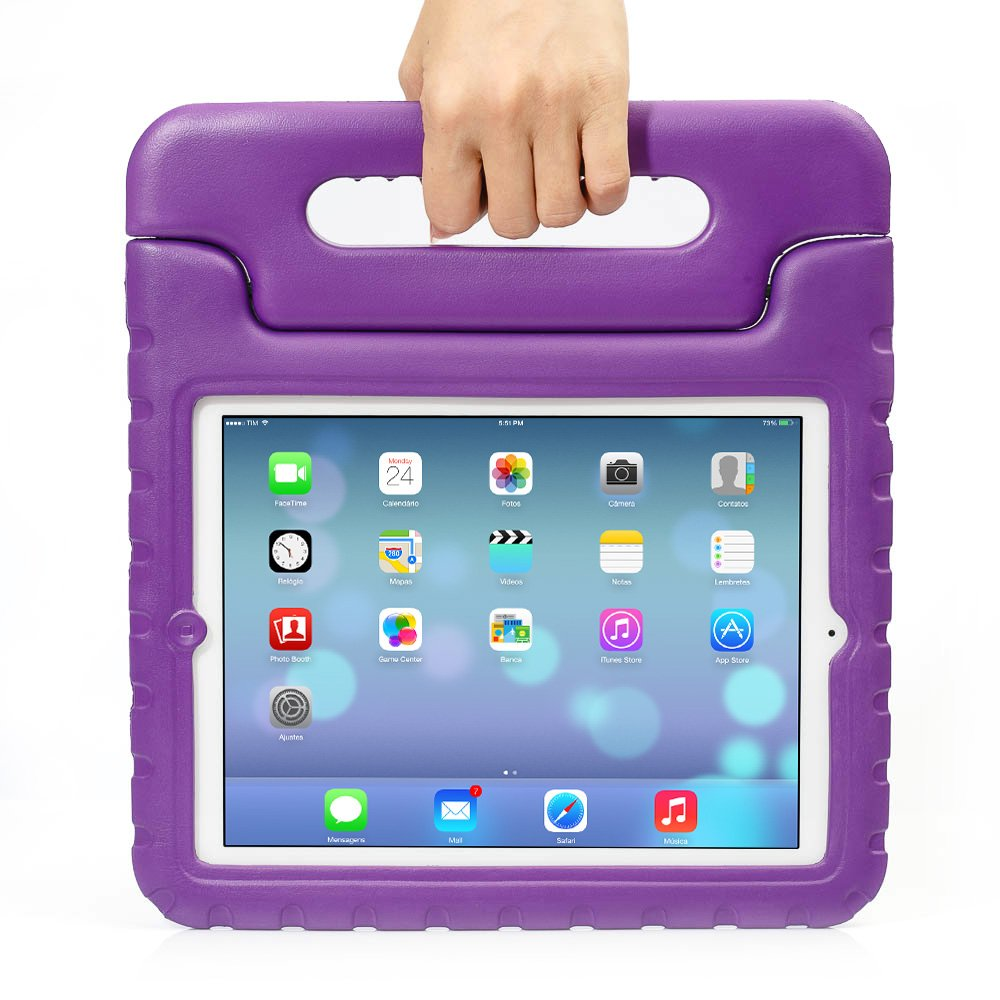 iPad MiNi 1/2/3 Kiddie Case, Grand Sky-Shockproof Case Light Weight Kids Case Super Protection Cover Handle Stand Case for kids Children for Apple iPad mini 1 / iPad mini 2 / iPad mini 3 (ipad mini 1/2/3, green)