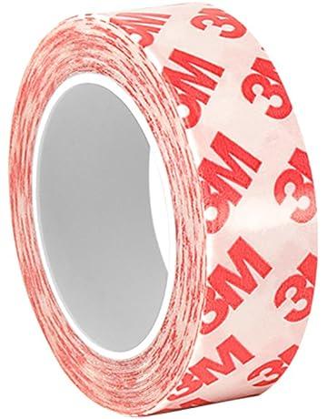 tapecase 3/4, diseño 6-9088 acrílico transparente cinta de doble capa de