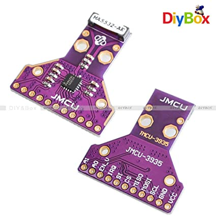 FidgetKute MA5532 AS3935 - Detector de distancias de tormenta con Sensor SPI/I2C