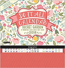 orange circle studio 17 month 2016 do it all magnetic wall calendar