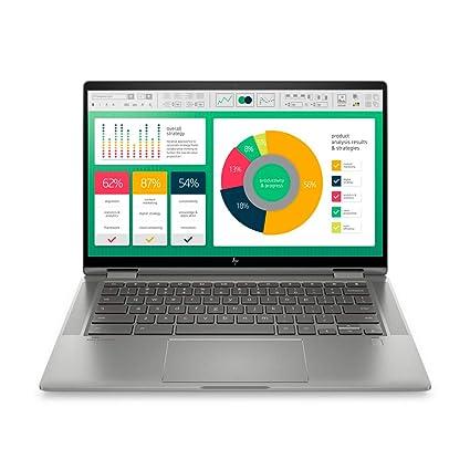 HP Chromebook x360 10th Gen Intel Core i3 14-inch Laptop (i3-10110U/4GB/64GB SSD/Chrome OS/Integrated Graphics, Mineral Silver), 14c-ca0004TU