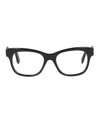 bd223fb83a Amazon.com  Eyeglasses Alexander McQueen AM0005OA AM 0005 5OA OA 5 ...