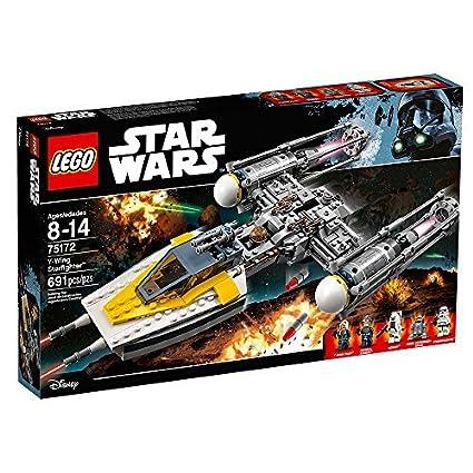 Amazon.com: LEGO Star Wars Y-Wing Starfighter 75172 Star Wars Toy ...