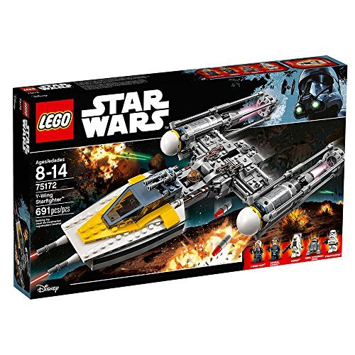 (LEGO Star Wars Y-Wing Starfighter 75172 Star Wars Toy)
