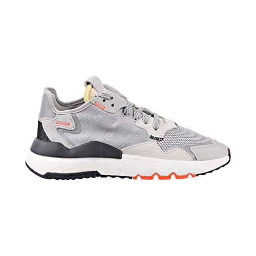 sneakers adidas grey and orange