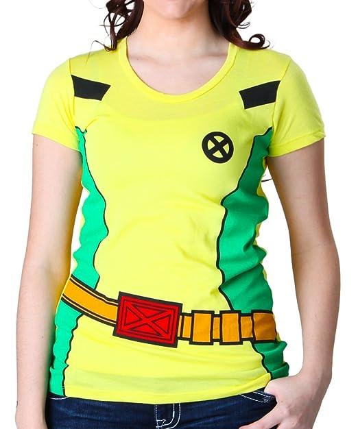 X Xmen Donna Costume Rogue Comics Men Marvel Maglietta Da Eroe Super qVMGLUzpS