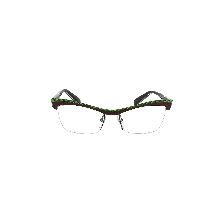 Eyeglasses Alain Mikli A 2017 M0JM BROWN GREEN