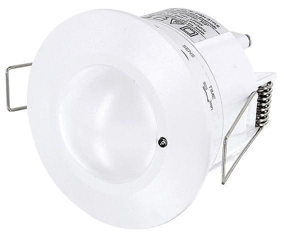 Empotrable HF Detector de movimiento 360 ° con sensor crepuscular – Alta frecuencia Radar HF 5