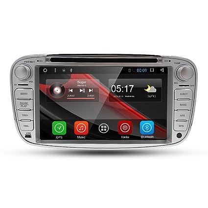 En Dash GPS reproductor de DVD para Ford Mondeo, S-Max, Focus,