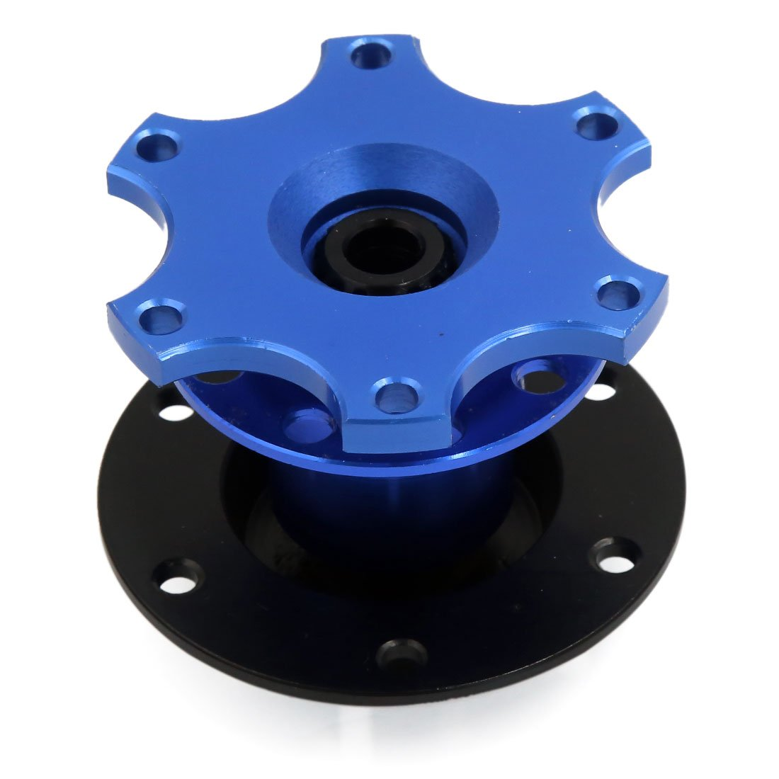 uxcell Metal Rolling Ball Type Steering Wheel Hub Adapter Kit for Auto Car