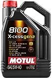 Motul 109776 8100 X-Cess Gen2 5W-40 Motor Oil 5-Liter Bottle