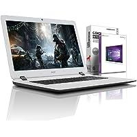 Acer ES1 (15,6 Zoll) Notebook (Intel N3350 Dual Core 2x2.40 GHz, 8GB RAM, 1000 GB, Intel HD Graphic, HDMI, Webcam, USB 3.0, WLAN, DVD-Brenner, Windows 10 Professional 64-Bit) #5487