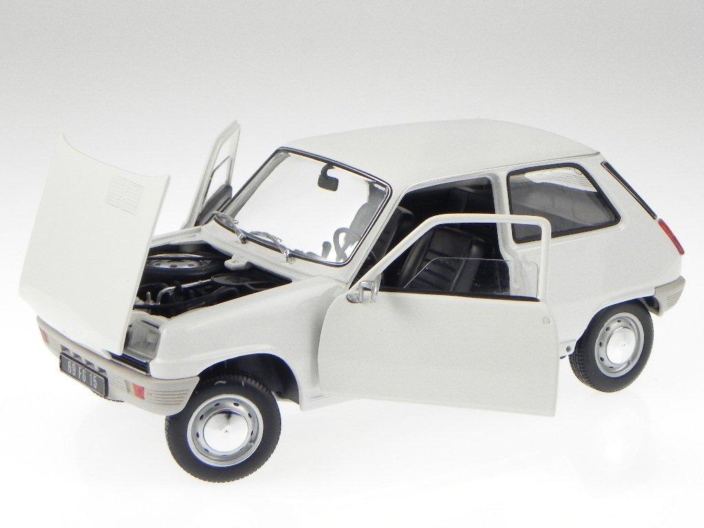 Renault 5 R 5 R5 weiss Modellauto 180011 Norev 1 18 B01FZ4R1F2 Miniaturmodelle Treten Sie ein in die Welt der Spielzeuge und finden Sie eine Quelle des Glücks  | Helle Farben