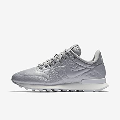NIKE Womens Internationalist JCRD Winter Trainers 859544 Sneakers Shoes (US  5.5, Metallic Silver 001